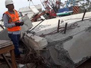 Indonesia: Bridge collapse kills two