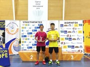 Vietnamese player wins Cyprus junior badminton event