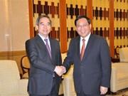 Senior Vietnamese Party official visits Shanghai city