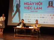 France-Vietnam job festival to be held in Hanoi, HCM City
