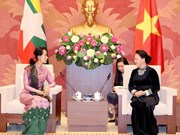National Assembly Chairwoman hosts Myanmar State Counsellor