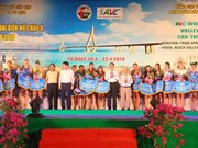 Asian Women's Beach Volleyball Championship kicks off