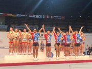 Vietnam wins three golds at Aerobics Suzuki World Cup