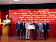 Vietnamese Embassy in Laos honoured with Labour Order