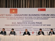 PM urges strong changes in Vietnam-Singapore economic partnership