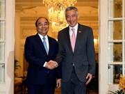 Singaporean media spotlights Vietnamese PM's visit