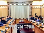 HCM City's official receives Ukrainian parliamentarians