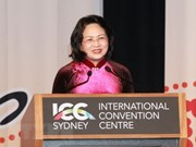 Vice President Thinh addresses Global Summit of Women's opening