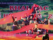 Sa Pa Summer Tourism Festival begins