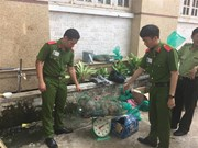 Wildlife transport discovered in Binh Duong