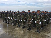 Cambodian soldiers join UN Peacekeeping Mission in Africa