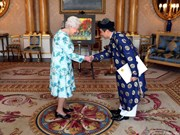 Vietnamese Ambassador to UK presents credentials
