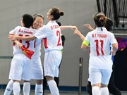 Vietnam enters quarter-finals at women's futsal tourney