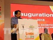 Vietnam attends pharma and healthcare exhibition in India