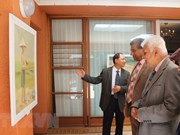 Painting exhibition in South Africa draws large crowds