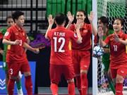 Vietnam enter AFC futsal event's semi-finals