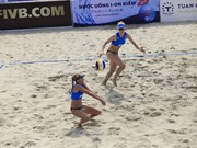 World women's beach volleyball event kicks off in Quang Ninh