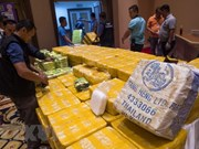 Thailand seizes drugs worth 45 million USD