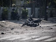At least six people killed in three church bombings in Indonesia
