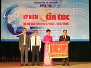 VNA's Tin Tuc newspaper marks 35th anniversary of first edition