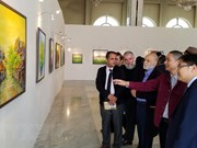 Vietnamese contemporary paintings exhibited in Algeria