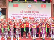 More than 500 youths join Vietnam-China border friendship exchange