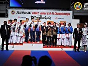 Vietnamese athletes shine at Asian karate event