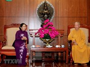HCM City's leaders extend greetings on Buddha's birthday