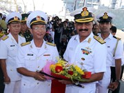 Indian naval ships visit central Da Nang city