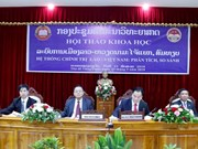 Vietnam, Laos review political system