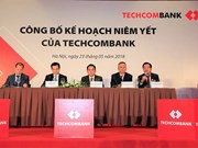 Techcombank shares to be listed on HOSE on June 4