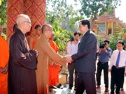 VFF President visits Buddhists in Soc Trang, Dong Nai provinces