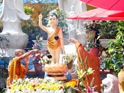 Lord Buddha's birthday celebrated abroad