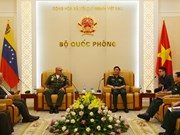 Vietnam, Venezuela step up defence ties