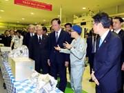 Japanese media highlight Vietnamese President's visit