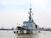 France's naval ships visit Ho Chi Minh City