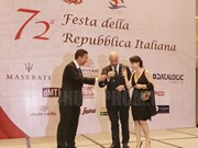Italy's 72nd National Day marked in HCM City