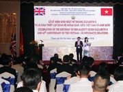45th anniversary of Vietnam-UK ties celebrated in HCM City