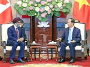Vietnam provides all means for defence ties with Canada