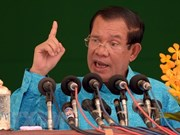 Cambodian PM vows to stay in power for another two terms
