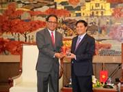 Micronesian top legislator visits Hai Phong