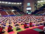 Hanoi: 1,200 people to join yoga performance