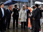 Malaysian Prime Minister Mahathir Mohamad visits Japan