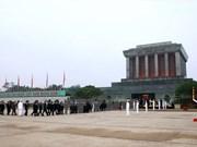 President Ho Chi Minh Mausoleum closes for maintenance