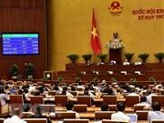 NA adopts two resolutions, three bills