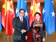 Micronesian Speaker of the Congress concludes Vietnam visit