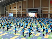 Fourth International Day of Yoga observed in Hanoi
