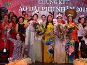 Winners of Mrs Ao Dai Vietnam Europe 2018 announced
