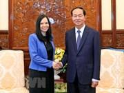 President Tran Dai Quang receives outgoing Polish ambassador