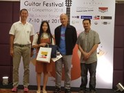 Vietnamese student named best regional guitarist